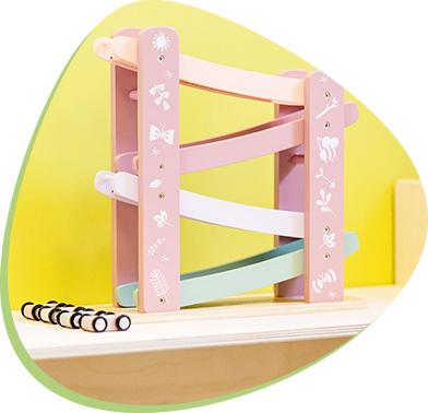 drewniana zabawka edukacyjno-zręcznościowa